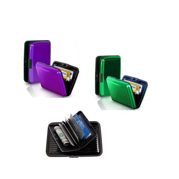 ATM Debit Credit Card Holder Aluminium Set of 3 Stylish Wallet