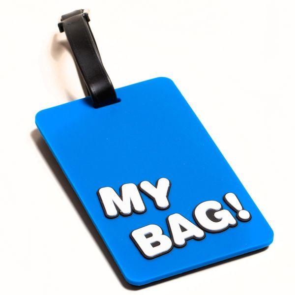 Daffodils My Bag Luggage Strap Blue 90