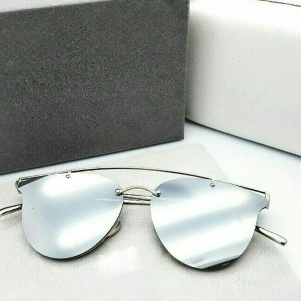 Fashion Mart Bradead Silver sunglasses