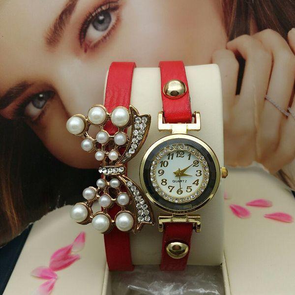 royal red premium analog watch