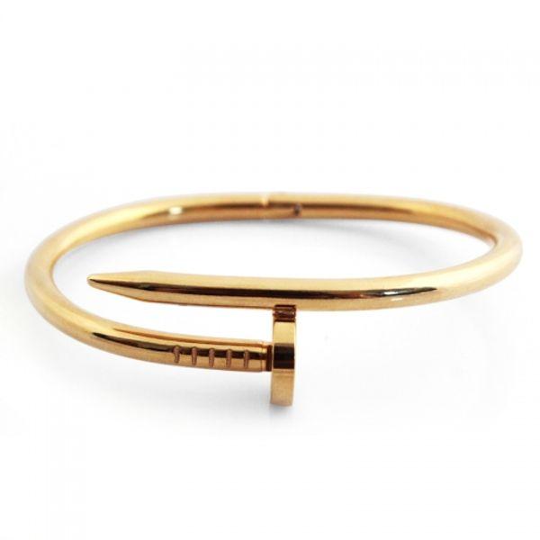 Golden Round Metal Designer Bracelet Exclusive Look