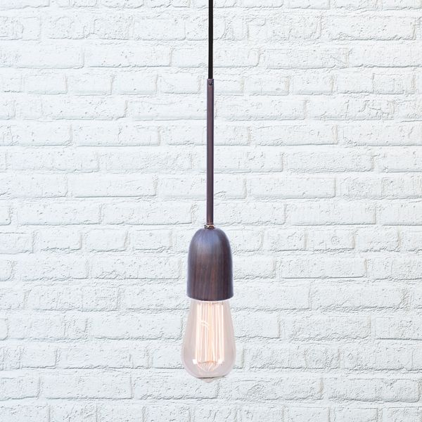 Marical Wooden Finished PendantHanging Lamp Stealth Series