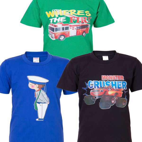 Ultrafit Junior Boys Cotton Multicolored T-Shirt- Pack of 3192