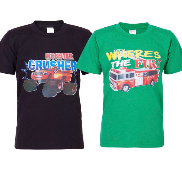 Ultrafit Junior Boys Cotton Multicolored T-Shirt- Pack of 2168