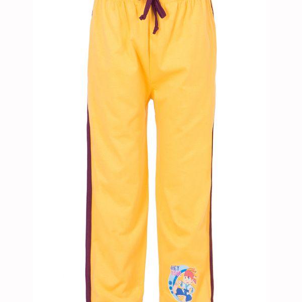 Ultrafit Junior Boys Cotton Yellow Track Pant259
