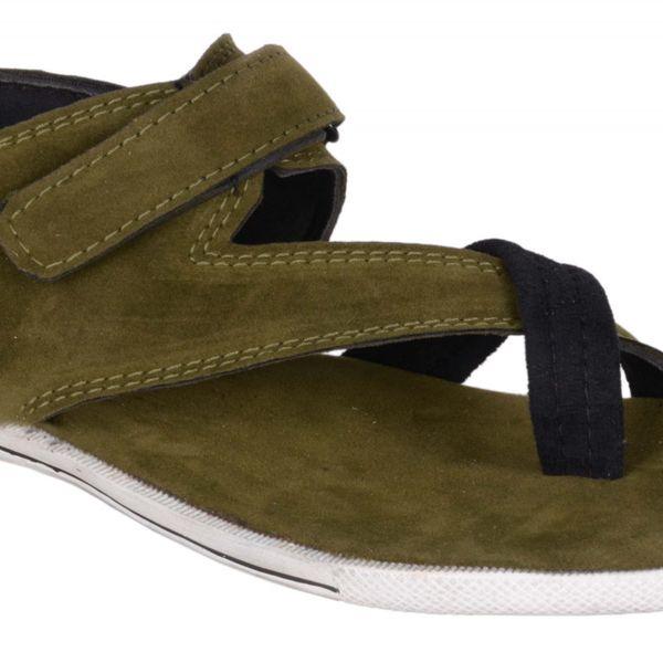 Dakarr olive sandal for boys  mens