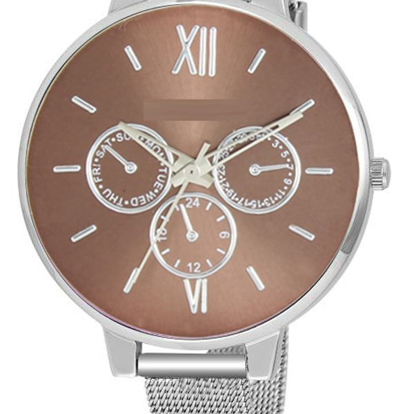 The Shopoholic Analog Brown Dial With Metal Belt Watches For Women-Watches For Girls New