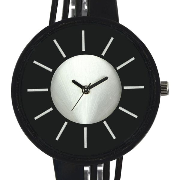 The Shopoholic Casual Analog Black Dial With Black Metal Belt Watches For Women-Watches For Girls Stylish