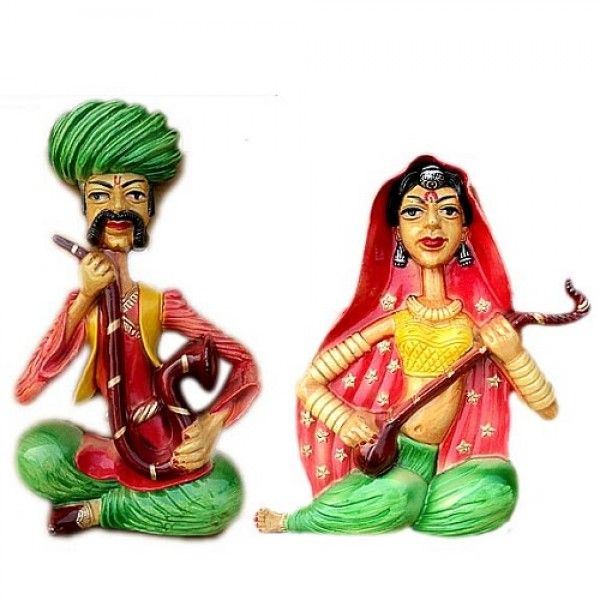 Kalaaplanet Mehfil Wall Hanging - Set of 2