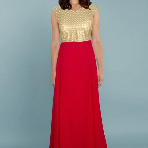 Exclusive Designer Red Gown