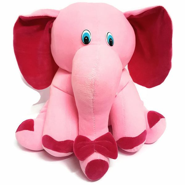 Elephant Teddy Bear by CGB for your Kids Pink 32 CM
