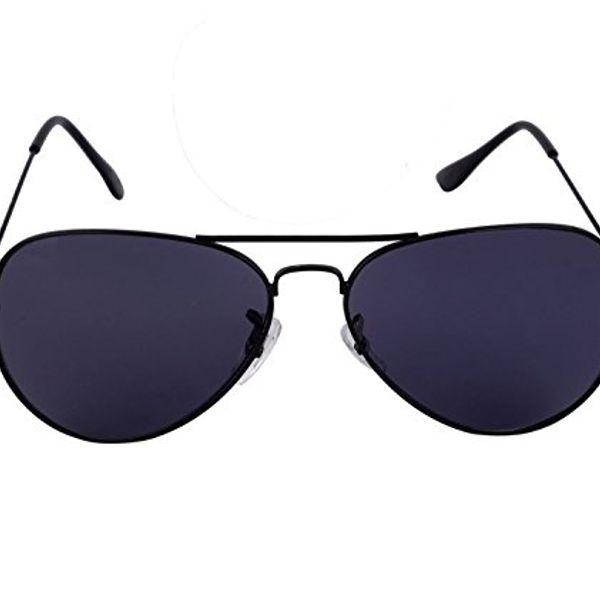 Black And Purple Sunglasses
