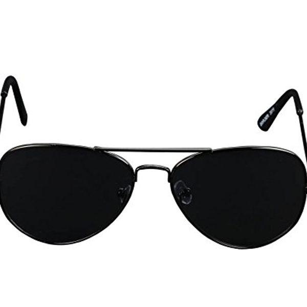 black stylish sunglasses