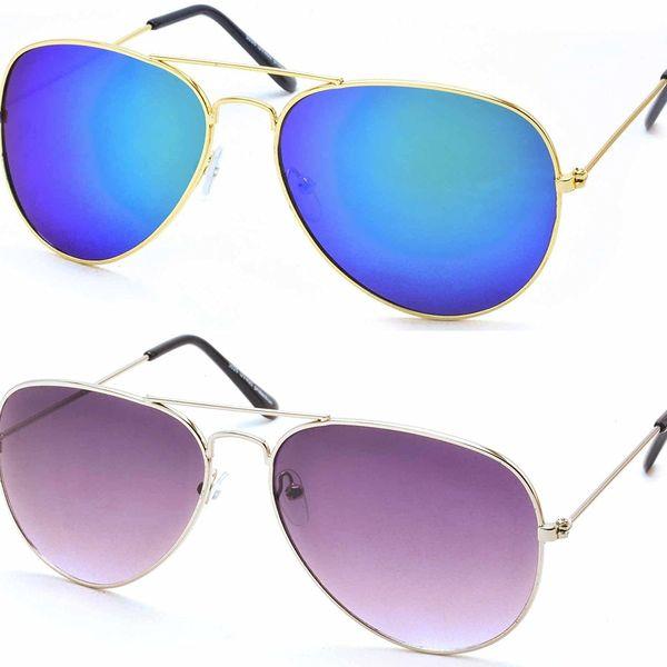 blue and purple sunglasses