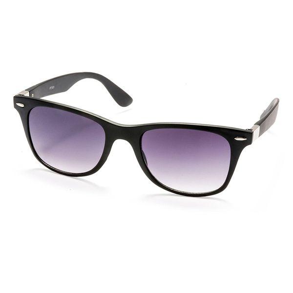 Purple Lens Silver Kartz Sunglasses