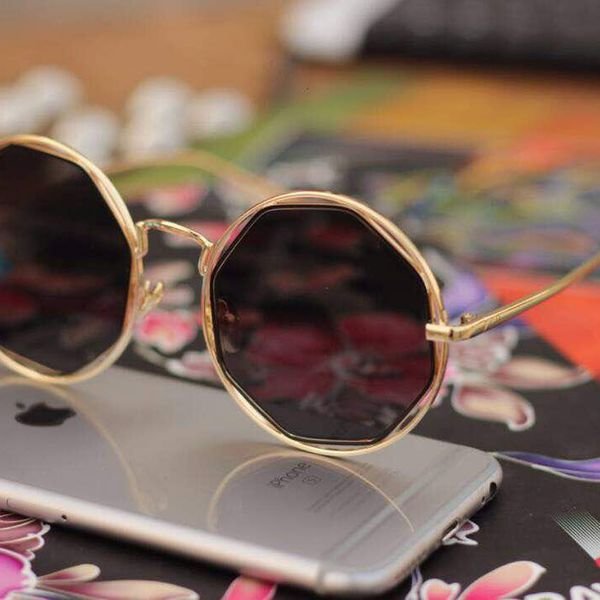 Black And Gold Stylish Sunglasses for Women