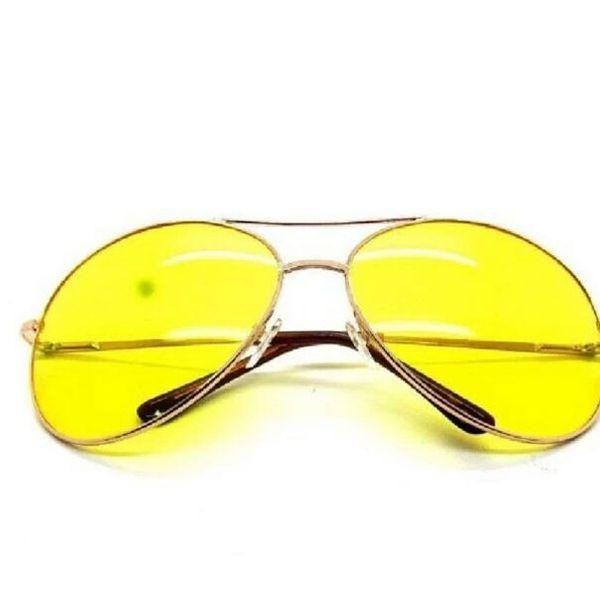 Sunglasses yellow aviator