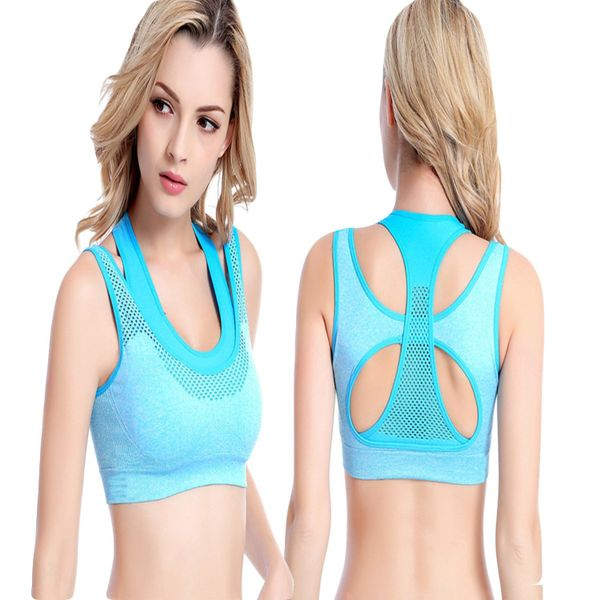 Womens Comfort Revolution Workout Fitness Sports Bras Fake Two Pieces Yoga Athletic Gym High Impact Underwire Padded Seamless Strap Racerback.-B078N8SZJX