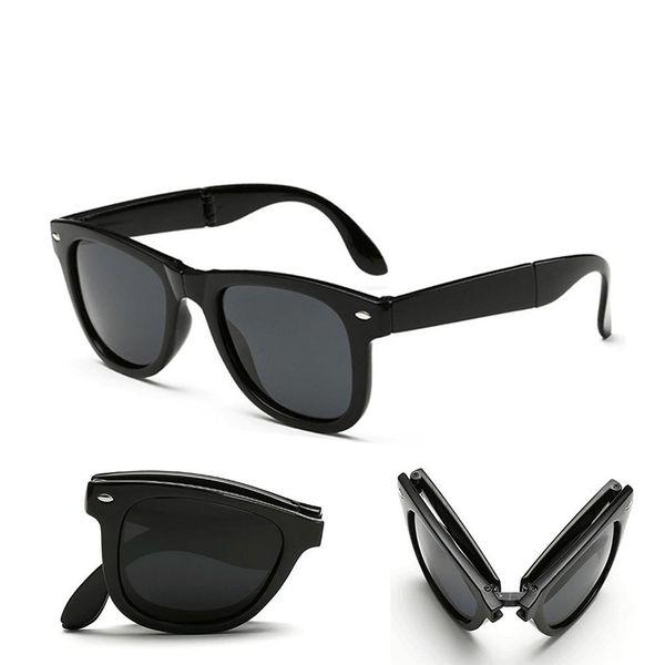 Royal Wood Foldable Black Folding Sunglasses FOLD