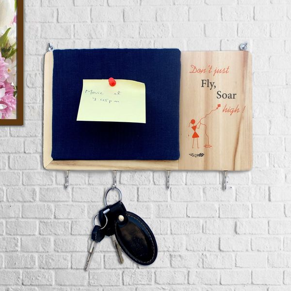 IVEI warli key holder with a pin board