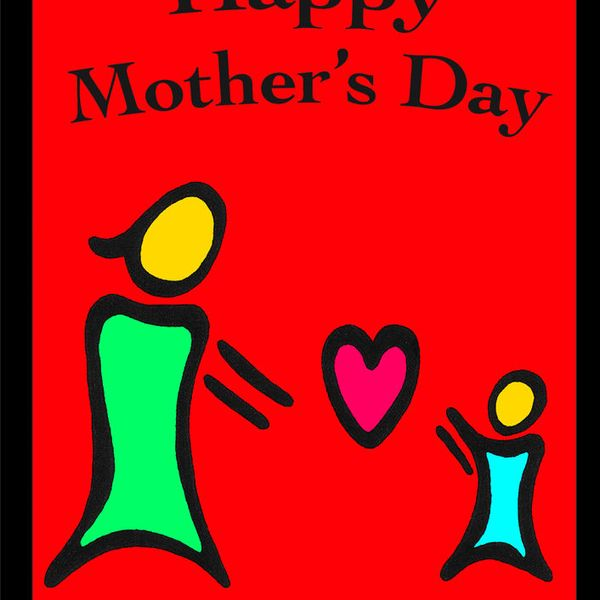 Fantaboy Happy Mothers Day Wall Poster