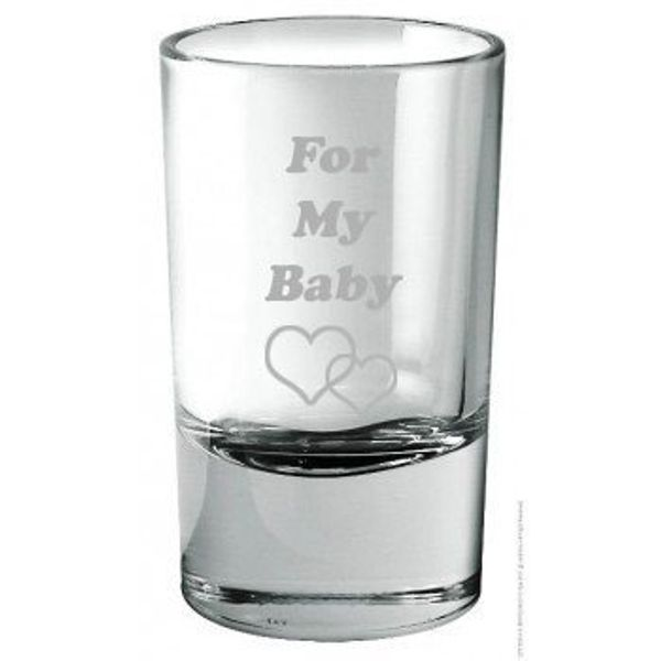 Engraved Shot Glasses Set of 2 Glasses - Gift for him