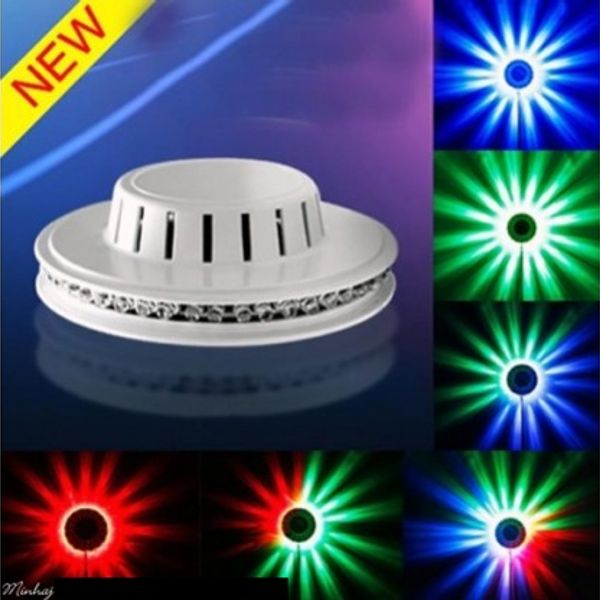 48 LEDs Wall Hanging and Stage Multi color Rotating Light