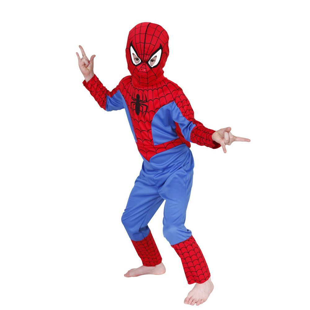 Spiderman costume for Kids Age 4-6 For fancy dress Halloween Party Dress  sc 1 st  Kraftly & Buy Spiderman costume for Kids Age 4-6 For at Lowest Price ...